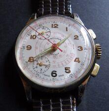 Vintage ENDURA Chronograph Telemetre' Men's Wrist Watch - Swiss Made