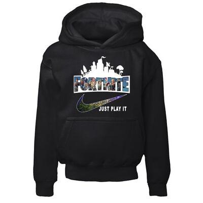 Kids Fortnite Hoodie Sweatshirt Pullover Größe Small 5/6 Jahre