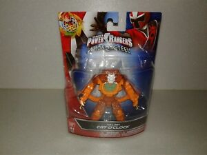 "Power Rangers Ninja Steel Cat O/'Clock 5/"" Villain Mighty Action Figure NEW IN PKG"