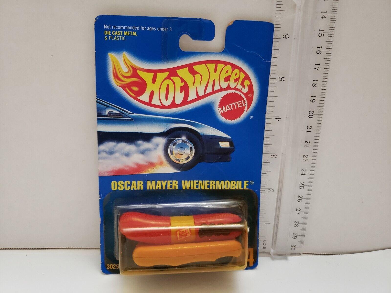 """1996 HOT WHEELS SILVER SERIES II OSCAR MAYER WIENERMOBILE #423 /"""" B94"""