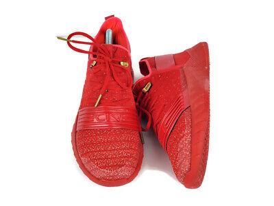 Under Armour UA BGS C1N TR Red Grade School Basketball Shoes 3000340 600