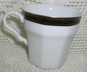 Christopher Stuart Black Dress Coffee Cup Teacup Cup Cups