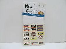MES-48782 West Coast WE2-10 US Decals 1:87,mit Original Verpackung,