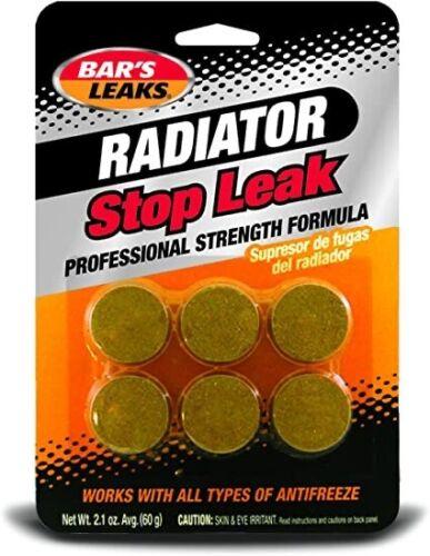 4-Pack Bar/'s Leaks HDC Radiator Stop Leak Tablets 60 Grams Professional Strength
