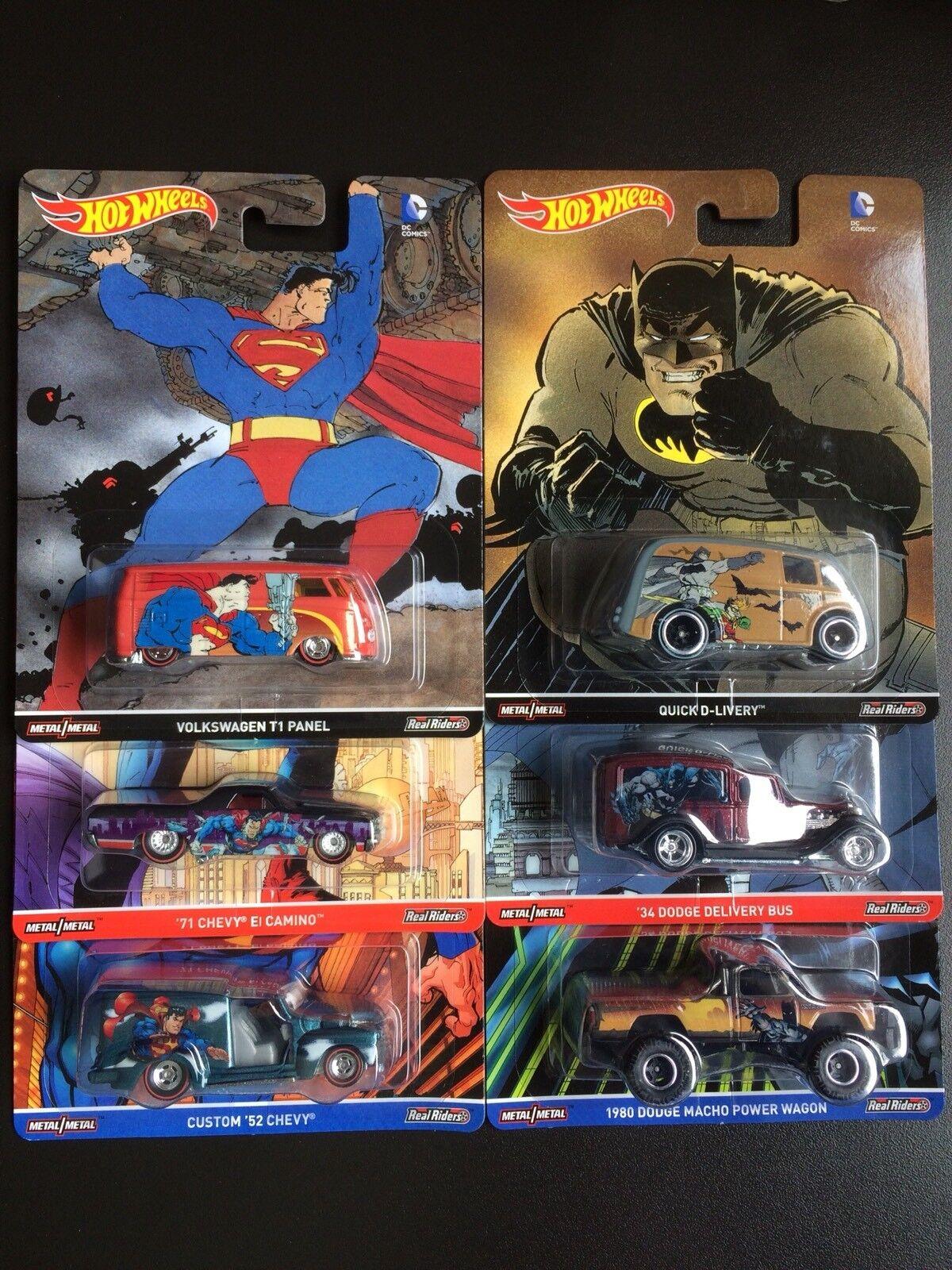 Hot Wheels DC Comics Pop Culture 2016