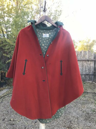 Little Red Riding Hood Authentic Cape   - image 1