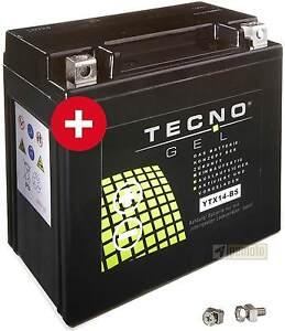YTX14-BS-GEL-Batterie-Suzuki-Intruder-VS-600-750-800-1400-TECNO-wartungsfrei