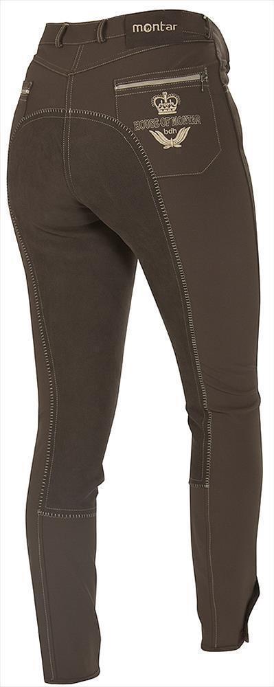 Montar Pantalones de Montar de Señoras braun Oscuro