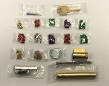 Weiser Pinning Kit Locksmith 15 Bottom Pins Each 0 9 Two Different Cut Wr5 Keys