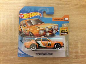 Hot-Wheels-Hotwheels-039-70-Ford-Escort-RS1600-1-64-1-64-5-10-Baja-Blazers