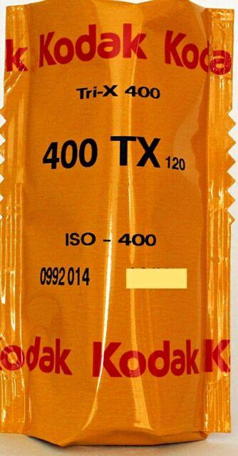 1 x KODAK TRI-X 120 400 120 ROLL CHEAP B&W FILM by 1st CLASS POST