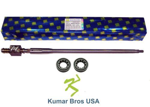 YM2202 YM2220 YM2301 YM2402 2 Pcs New Yanmar Tractor Steering Shaft /& Bearings