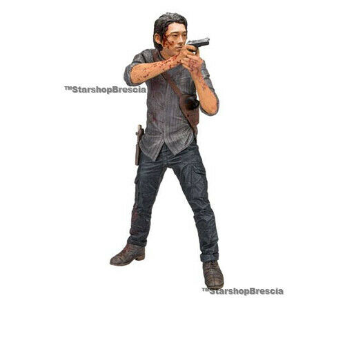 WALKING DEAD TV - Glenn Legacy Edition 10  Deluxe Action Figure McFarlane
