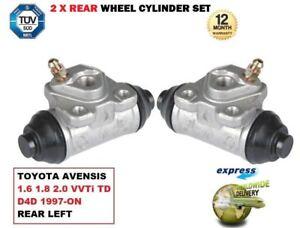 Per-Toyota-Avensis-1-6-1-8-2-0-Vvti-Td-D4D-1997-gt-2X-Ruota-Post-Cilindro-Set