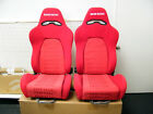 NEW BRIDE ERGO II STYLE ADJUSTABLE SPORT SEAT RED GRADATION ACURA SUBARU TOYOTA