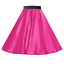 Rock-n-Roll-SATIN-Skirt-OR-Scarf-UK-LADIES-1950s-Costume-Musical-Fancy-dress thumbnail 10