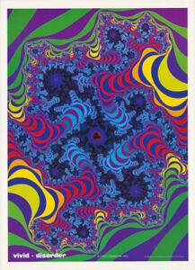 VIVID PHASE SPACE FREE SHIPPING POSTER PSYCHEDELIC RC41 O