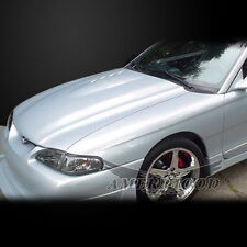 1994 95 96 97 1998 Ford Mustang T10 Cobra R Style Fiberglass Hood Body Kits Fits Mustang