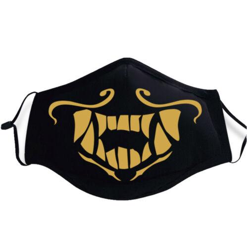LOL League of Legends K//DA Kda Akali Assassin Cosplay Face Mask Cos Accessories