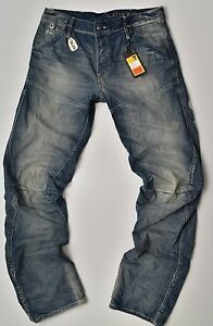 758e4c16692 G-Star Raw, Motor 5620 3d Tapered Embro , Lt Aged Jeans, W28 L30 New ...