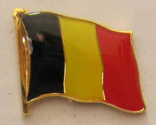 Belgien Pin Anstecker Flagge Fahne Flaggenpin Badge Button Clip Anstecknadel