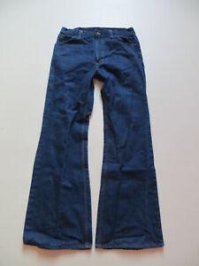 Levi-039-s-602-Schlag-Jeans-Hose-W-33-L-32-original-70-039-er-Schlaghose-Orange-Tab