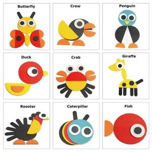Wooden-3D-Puzzle-Jigsaw-Wooden-Toys-For-Children-Cartoon-Animal-Puzzles-H