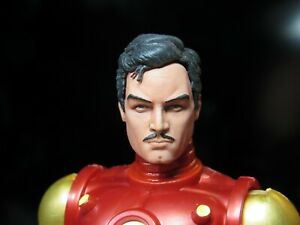HEAD-ONLY-Marvel-Legends-Custom-painted-Head-Tony-Stark-Ironman