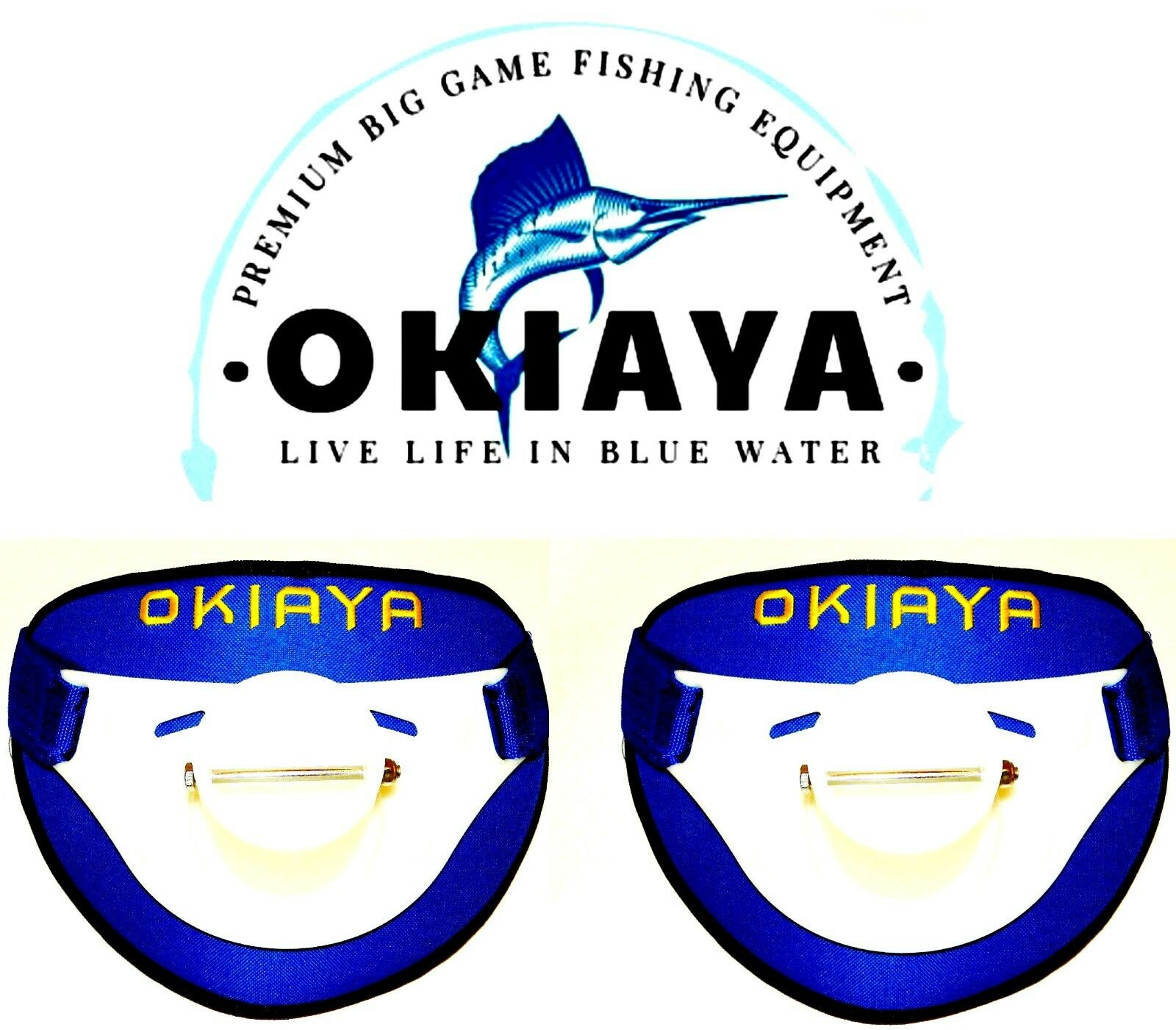 OKIAYA Big Game Fighting Belt 1 Size fits all (26in to 60in Waist) set of 2