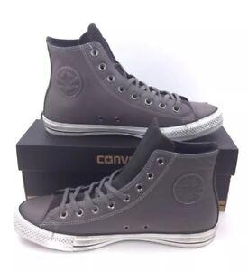 57f701fd4ce0 NEW Converse Chuck Taylor All Star Distressed Hi Gray Mens Shoes ...