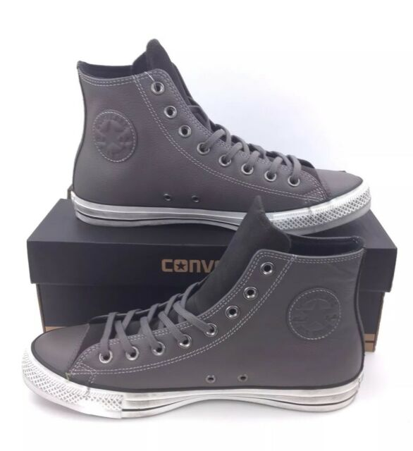 NEW Converse Chuck Taylor All Star Distressed Hi Gray Mens Shoes Sneakers  Size 9