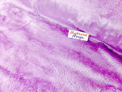 plain FAUX FUR fun FABRIC 155CM WIDE x 100cm
