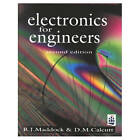 Electronics for Engineers by D. Calcutt, R.J. Maddock (Paperback, 1994)