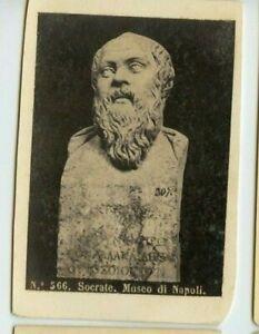 Vintage-CDV-Statue-of-Socrates-statue-Museum-of-Naples