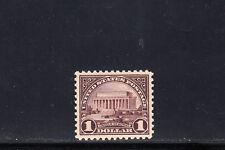 US Scott #571, Lincoln Memorial PSE Graded Stamp, XF-S 95, MNH/OG, SMQ $225