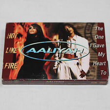 Aaliyah The One I Gave My Heart To Hot Like Fire Cassette Tape R&B Hip Hop Rap