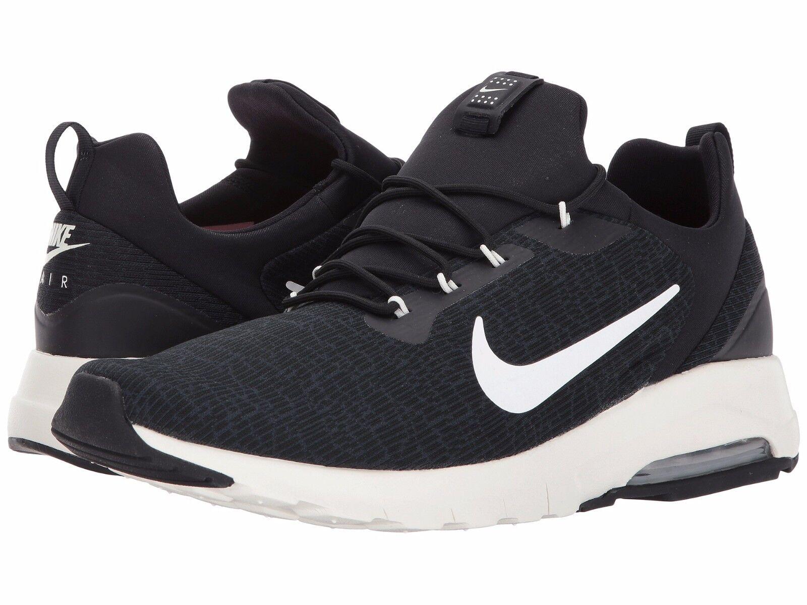 916771-001 Men's Nike Air Max Motion Racer Running Black/Sail Sizes 8-12 NIB