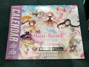 Best 2020 Anime.Details About Anime Expo Ax 2019 2020 Exclusive Calendar Madoka Magica Fate Grand Order
