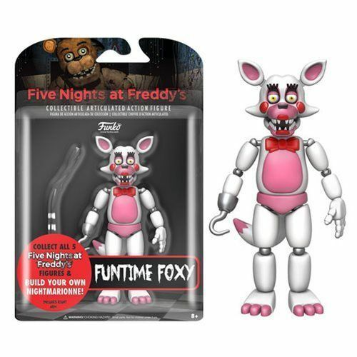Five Nights at Freddy/'s Funko Action Figure Funtime Foxy