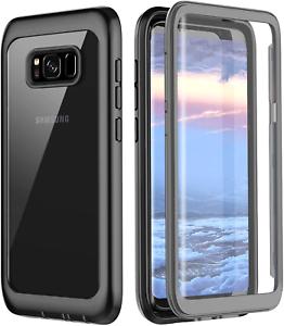 Samsung-Galaxy-S8-Case-Pakoyi-Full-Body-Bumper-Case-Built-in-Screen-Protector