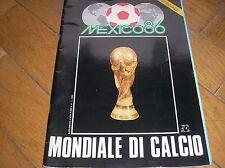 SPECIALE MUNDIAL MEXICO 86 MONDIALE CALCIO 1986 POSTER WORLD CUP FIFA ALL TEAM