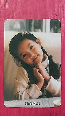 Dos veces jeongyeon #1 oficial Photocard Naranja Chico 1st álbum la historia comienza 정연