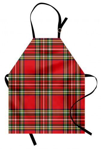 Plaid Kochschürze Irische kulturelle Klassik Farbfest und Höhenverstellbar