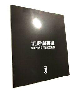 2019-Bolaffi-Folder-Juventus-Campione-d-039-Italia-2018-19-LE-of-500-W8NDERFUL