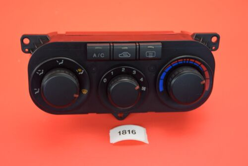 B#2 03-06 HYUNDAI TIBURON BASE GT SE GS A//C HEATER CLIMATE TEMPERATURE CONTROL