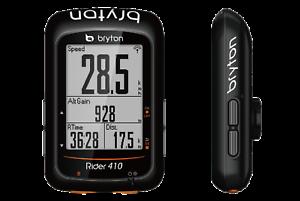 Bryton Rider 410E Bicycle Cycling Computer GPS ANT+  BLE Bike & Bike Mount