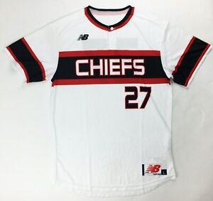 red baseball jersey