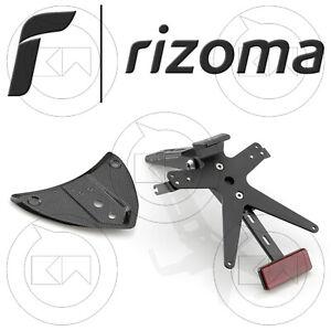 RIZOMA-PT704B-NUMMERNSCHILDHALTER-FOX-VERSTELLBAR-ALUMINIUM-SCHWARZ-BMW-S1000