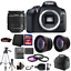 Canon-EOS-Rebel-1300D-T6-Digital-SLR-Camera-with-Microphone-64GB-Accessory-Kit thumbnail 1