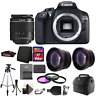 Canon EOS Rebel 1300D/T6 Digital SLR Camera with Microphone + 64GB Accessory Kit